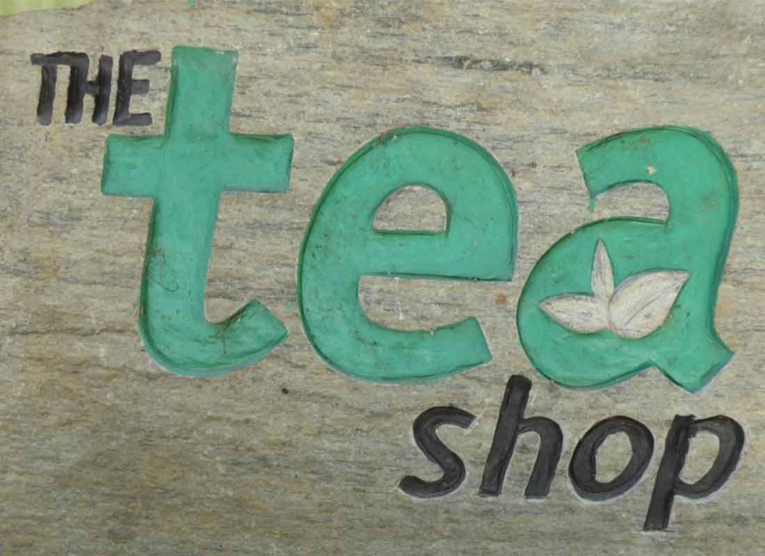 enseigne des magasins qui vendent du thé bio Li-Oy Tea