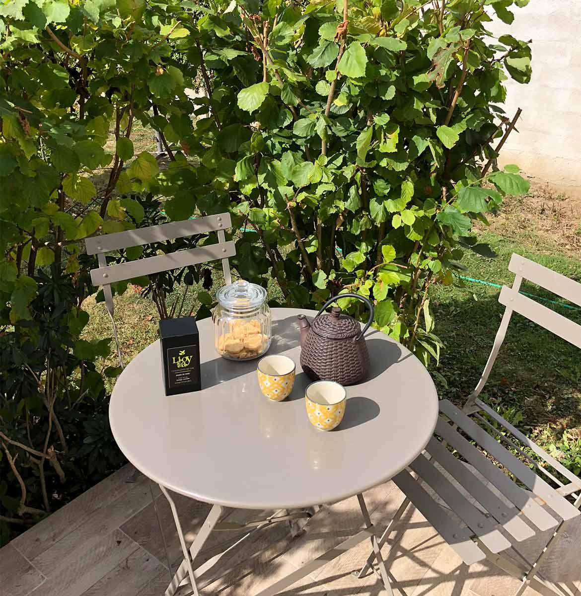 show-room dédié au thé bio dans les Yvelines